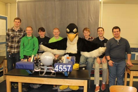 "HIGH-SCHOOL STUDENTS FROM CONNECTICUT AREA SHOWCASE DESIGN AND ENGINEERING SKILLS IN FIRST ® ROBOTICS COMPETITION GAME, ""FIRST STRONGHOLD"""