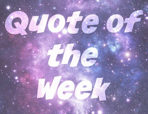 Quote of the Week: 1/17/2016