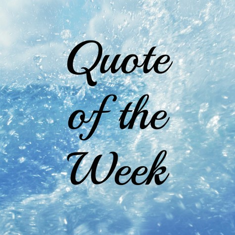 Quote of the Week: 1/31/2016