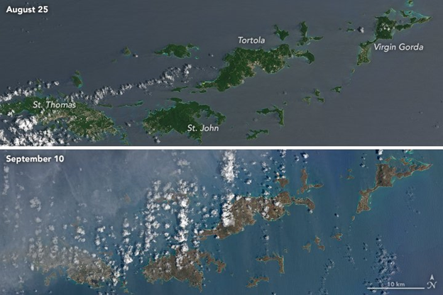 A Closer Look at The Recent Caribbean Hurricanes
