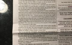State Representative Vincent Candelora's editorial in the Totoket Times, 5/1/20