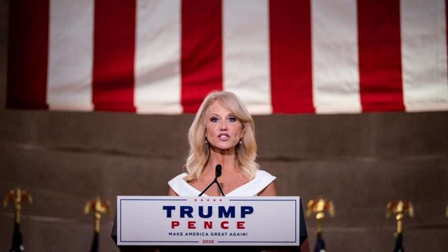 Counselor+to+the+President+Kellyanne+Conway+delivered+remarks+at+the+2020+Republican+National+Convention